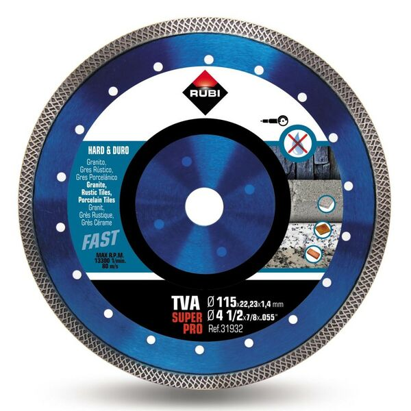 Rubi Turbo Viper TVA SUPERPRO 115 - 230mm |...
