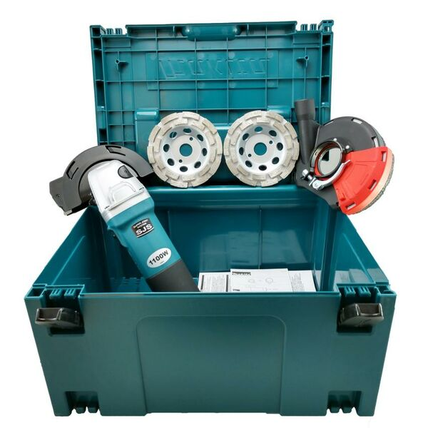Betonschleifer POWER SET im Koffer -  MAKITA...