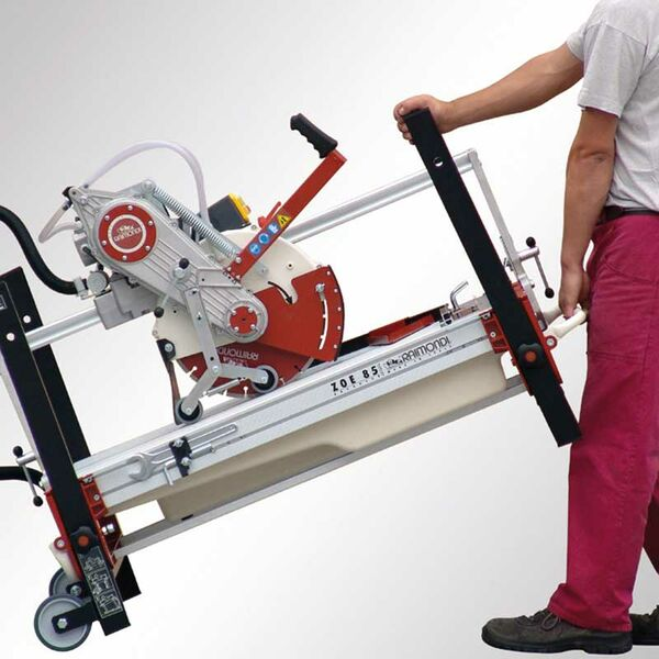 Robuste Steintrennmaschine ZOE ADVANCED 130 oder 150 cm