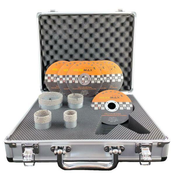 Gut bekannt Diamantbohrkronen 5 tlg. mit Anbohrhilfe im Koffer HC07