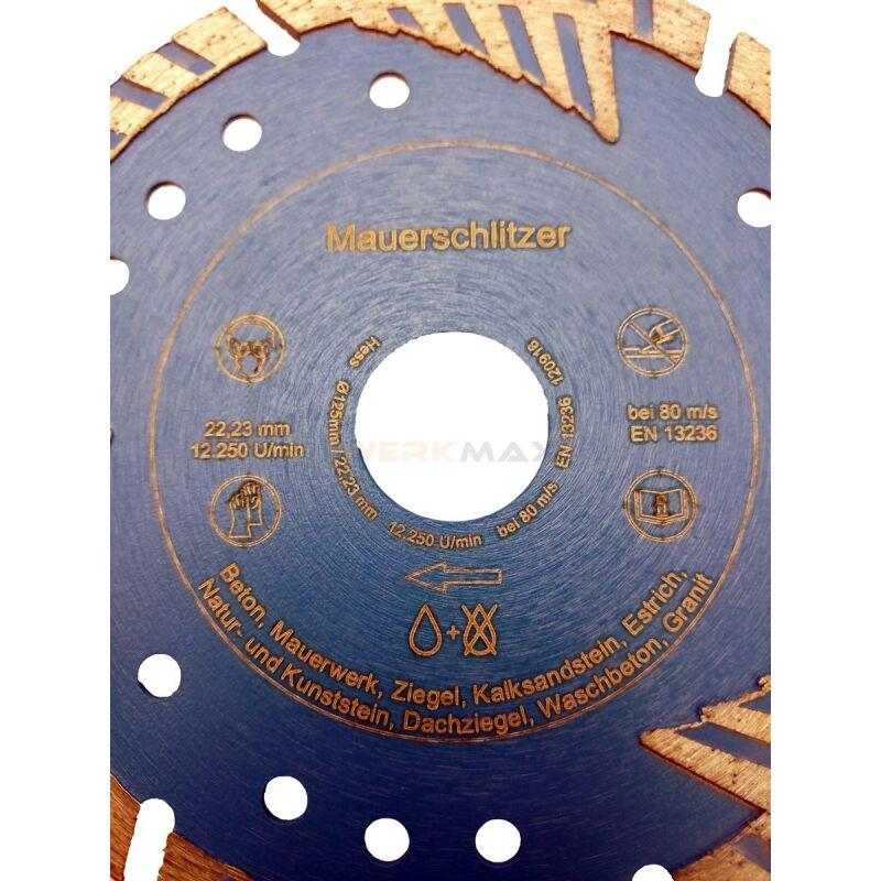 Extrem Diamantscheibe Mauerschlitz 115   125   150   230 - ultra NM27